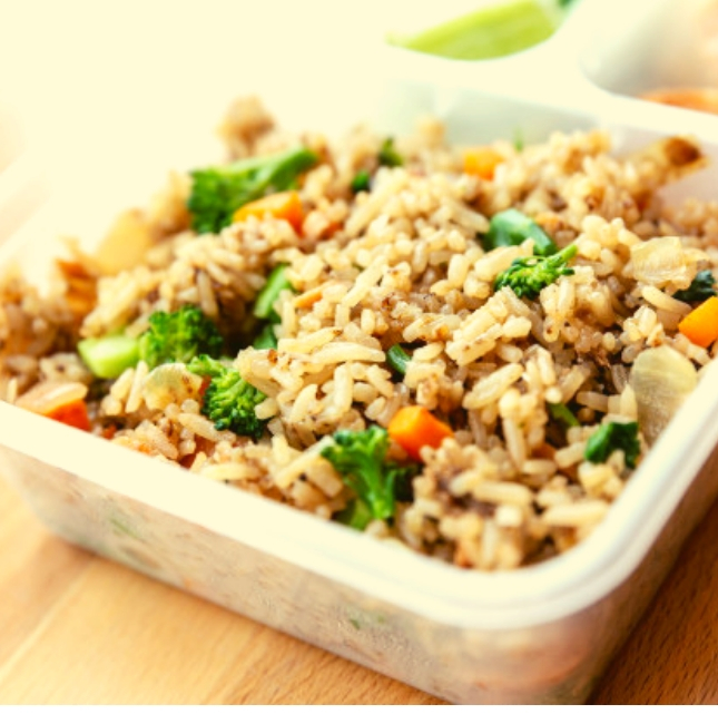 Low FODMAP Veggies Fried Rice | No Onion No Garlic recipe
