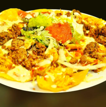 Low FPDMAP Beef Nachos