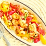 Low FODMAP shrimp stir-fry