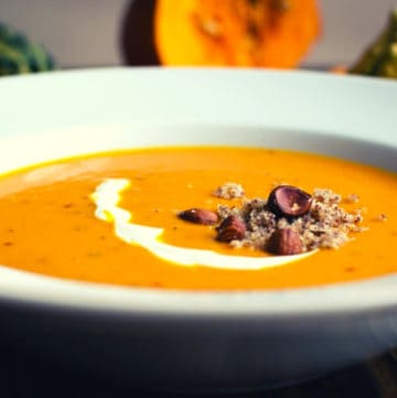Low FODMAP Butternut Squash Soup