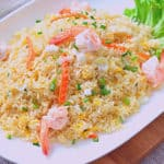 low fodmap shrimp fried rice
