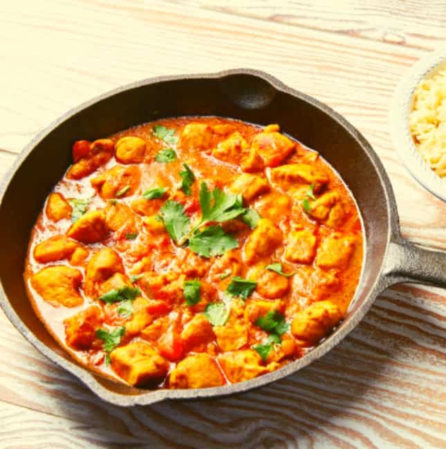 Low FODMAP Coconut Chicken Curry